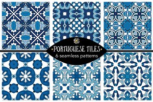 Set 105 - 6 Seamless Patterns