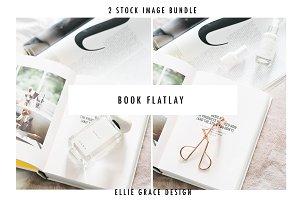 Styled Desktop Flatlay Stock Image