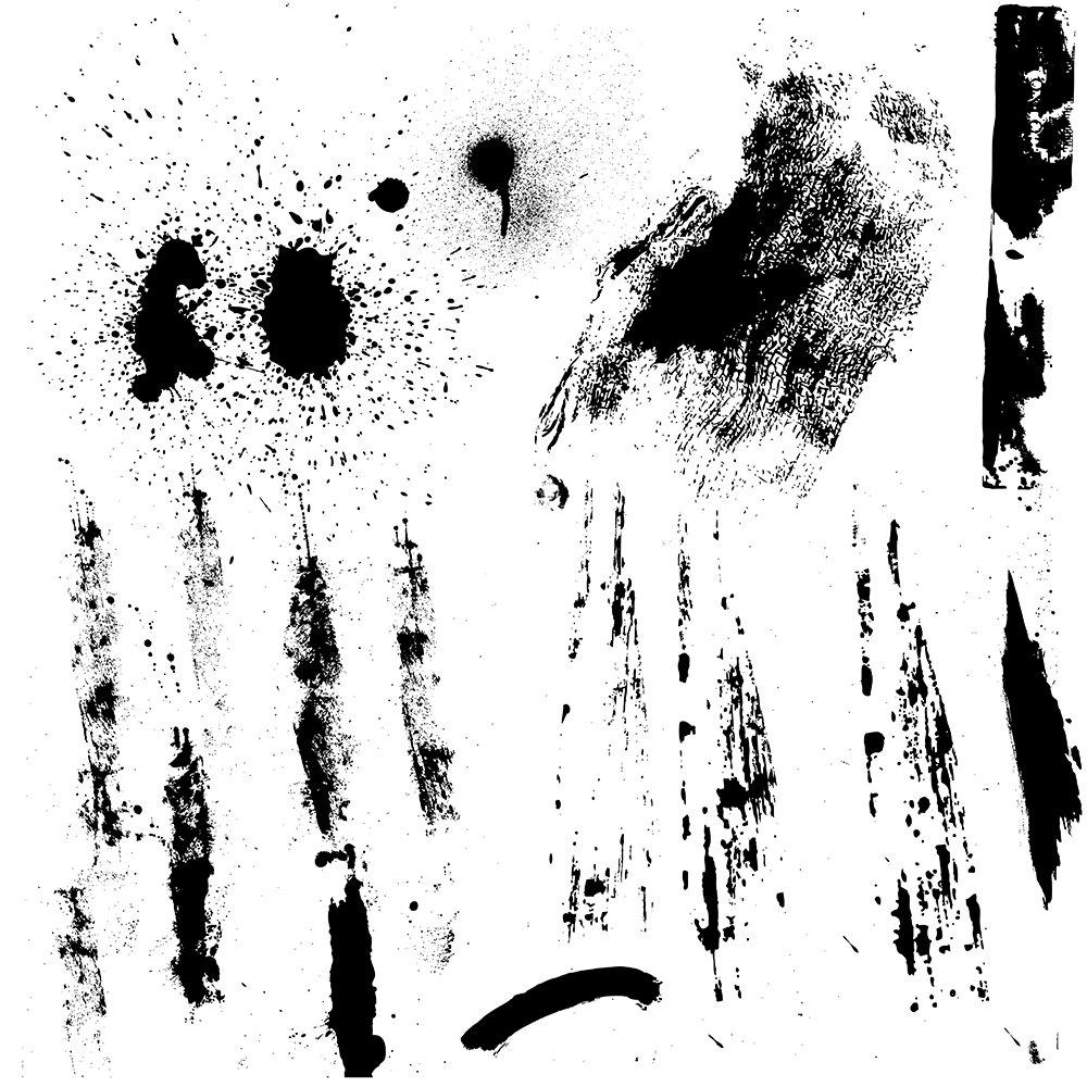 Grunge brushes photoshop plugins : propanop
