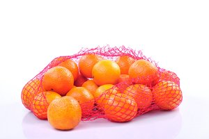 tangerines in bag