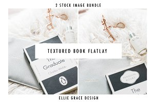 Textured Styled Book Stock Images
