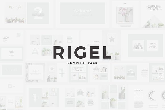 Rigel Complete Pack in Presentation Templates