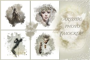 Artistic photo mockup vol. 1