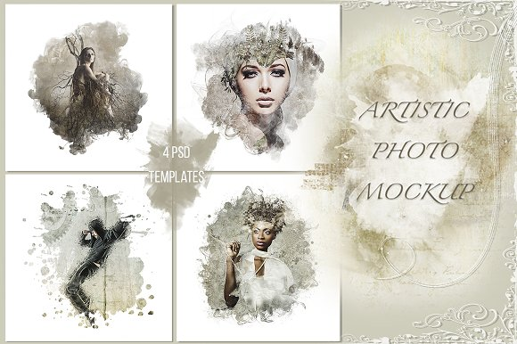 Download Artistic photo mockup vol. 1