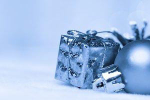 gold christmas bokeh