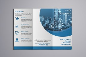 Trifold Business Brochure-V765
