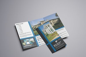 Real Estate Trifold Brochure V766