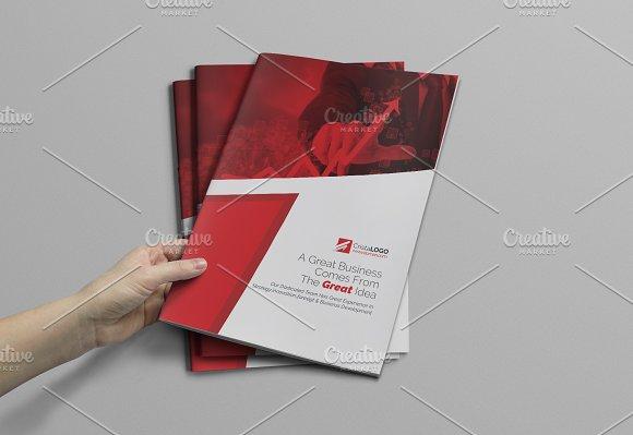 Bi Fold Brochure-Graphicriver中文最全的素材分享平台