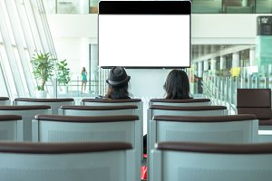 watch television at airport