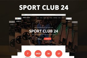 Sport Club 24 - Sport Muse Template