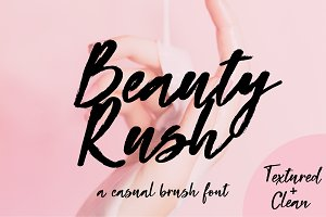 Beauty Rush Font