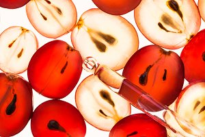 Grape seeds oil natural cosmetic.