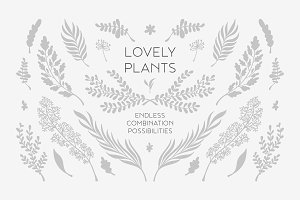 Lovely Plants package
