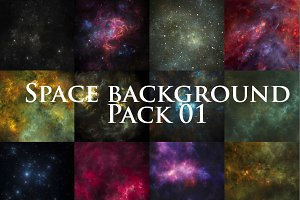 space background pack 01