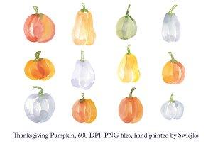 Thanksgiving pumpkin set