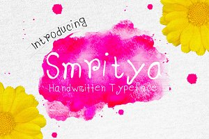 Smritya Handwritten Typeface