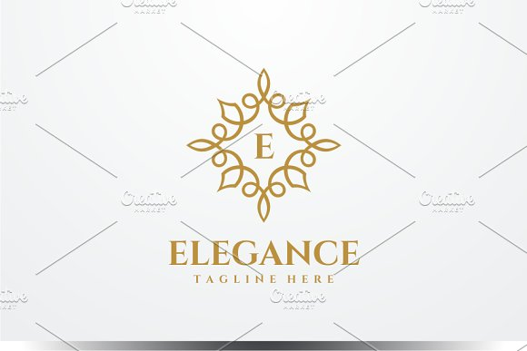 Elegance - Letter E Logo in Logo Templates - product preview 1