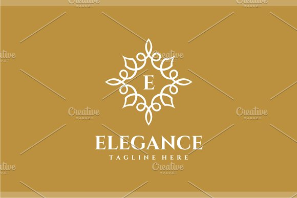 Elegance - Letter E Logo in Logo Templates - product preview 2