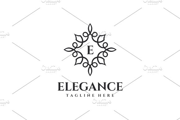 Elegance - Letter E Logo in Logo Templates - product preview 3