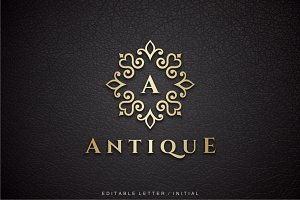 Antique - Letter A Logo