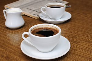cup   black coffee