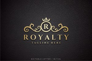 Royalty - Letter R Logo