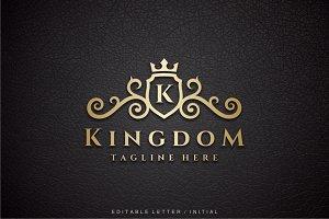 Kingdom - Letter K Logo