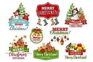 Christmas wish winter holiday vector greeting icon
