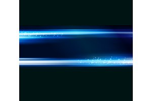 Abstract blue light shiny background
