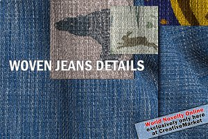 Woven Jeans Details, Yarn & Color