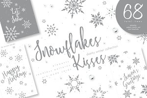 UPDATED+ Snowflakes Kisses
