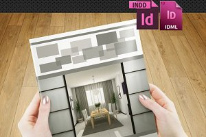 InDesign: Interior Brochure- V87