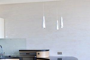 Fragment of modern kitchen