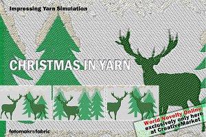 Christmas in Yarn Simulation