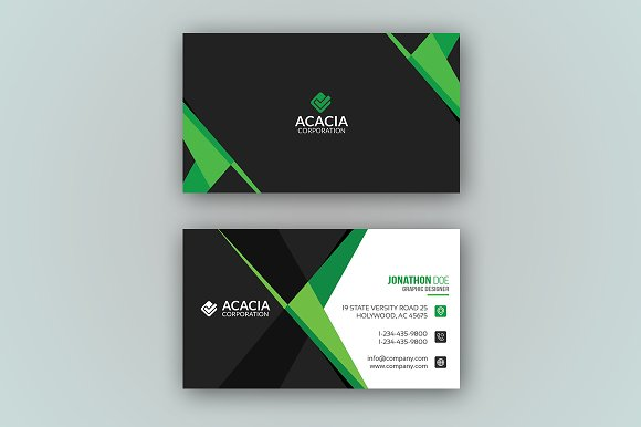 C-3 Business Card-Graphicriver中文最全的素材分享平台