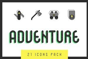 Adventure 21 Icons