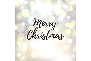 Merry Christmas abstract background.