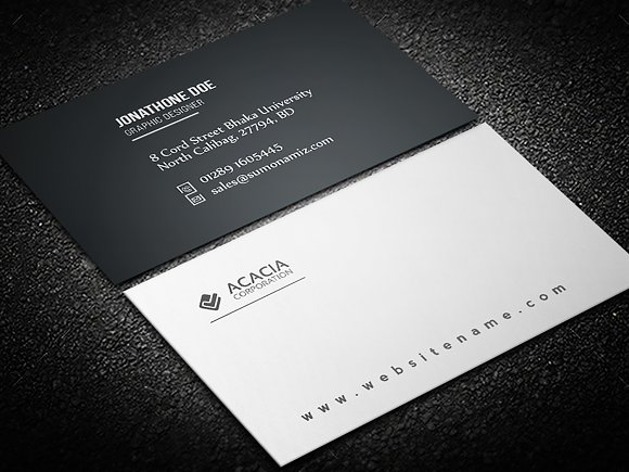 C-7 Business Card-Graphicriver中文最全的素材分享平台