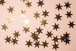 Many shiny stars background