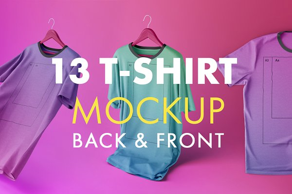 Changeable Creative T-shirt Mockups