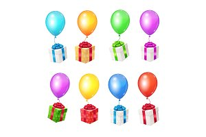 Balloons and Present Boxes