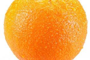 Orange isolated on a white