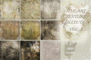 Fine art texture collection vol. 3