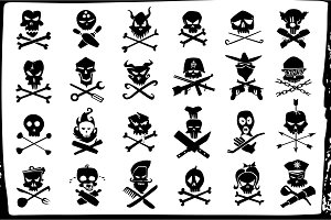 skull and bones signs