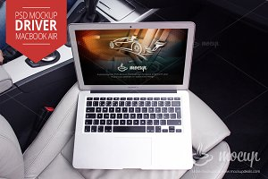 Mockup MacBook Air Driver