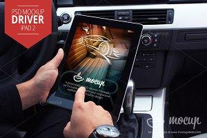 Mockup iPad 2 Driver