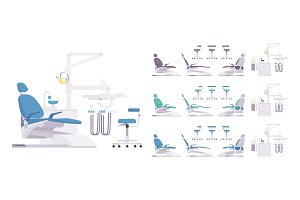 Dental equipment set