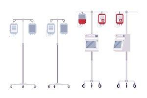 Medical dropper set