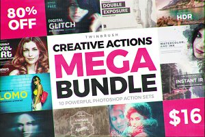 Creative Photoshop Effects Bundle