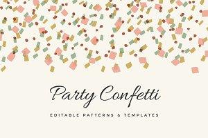 Handmade Confetti Pattern Set